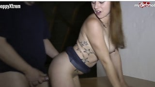 Horny German neighbours fucking in the attic